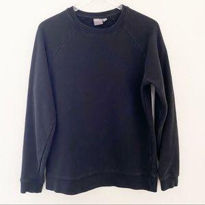 ASOS black Cotton Stretch Sweatshirt size Medium